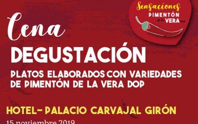 Cena Degustación en El Hotel Palacio Carvajal Girón
