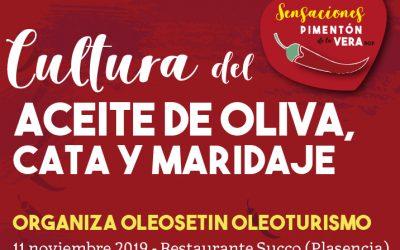 CULTURA DEL ACEITE DE OLIVA, CATA Y MARIDAJE OLEOSETIN