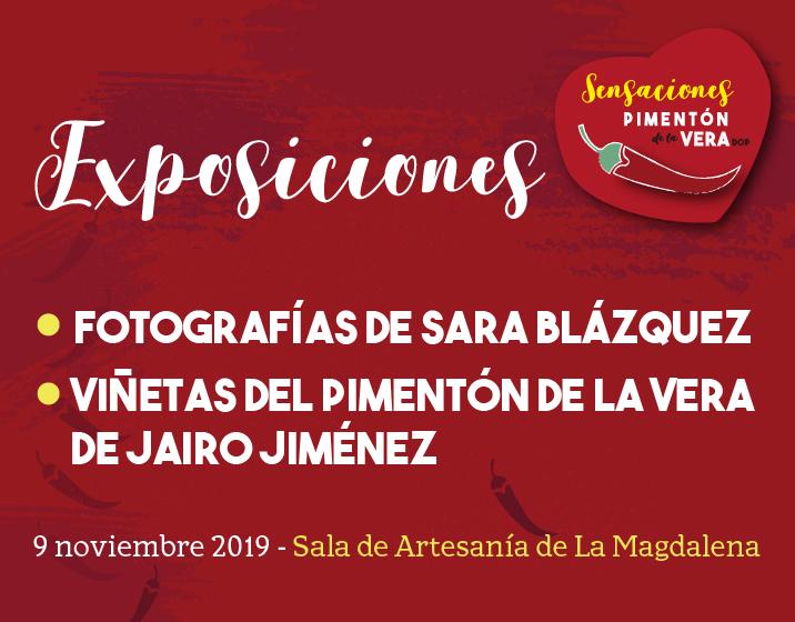 EXPOSICIONES FOTOGRAFÍAS y VIÑETAS DEL PIMENTÓN DE LA VERA
