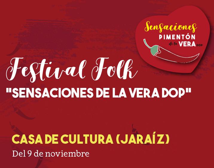 FESTIVAL FOLK EN JARAÍZ DE LA VERA