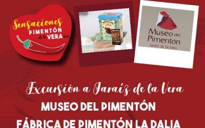 EXCURSIÓN A JARAÍZ + MUSEO + FÁBRICA «LA DALIA»